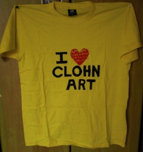 i (am not sure how i feel about) clohn art